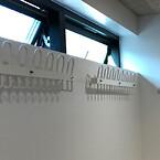 Praktiske, solide knagerækker til omklædningsrum.