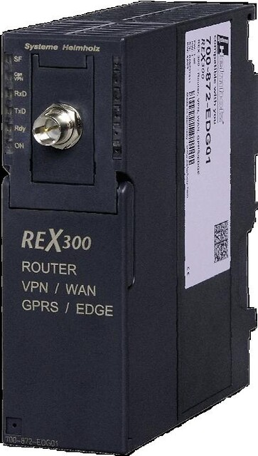 REX 300 Ethernet Router til PLC