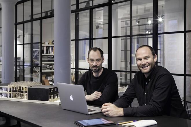 Warren Smith og Erik Folke Holm-Hansson fra Sangberg anvender ARCHICAD
