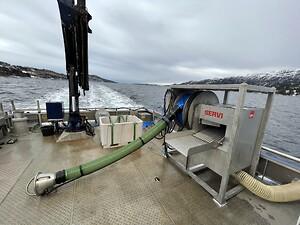 Servi CleanPump - dødfiskhåndtering som reduserer rømming av fisk i merdene.