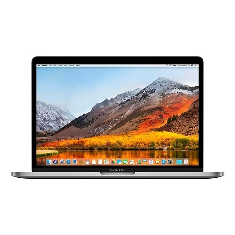"15"" Apple MacBook Pro Touch Bar (Sølv) - Intel i7 8850H 2,6GHz 512GB SSD 16GB (Mid-2018) - Grade A"