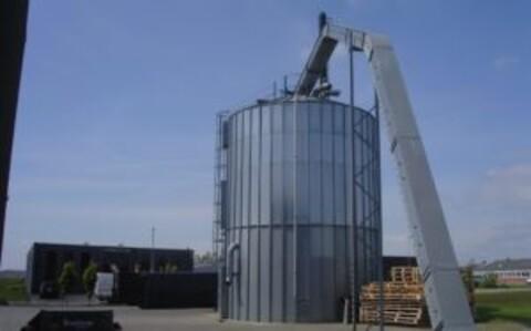 Siloer til deponering - silo deponering