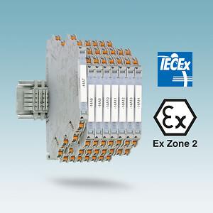 ATEX signalkonverter, IECEx zone 2