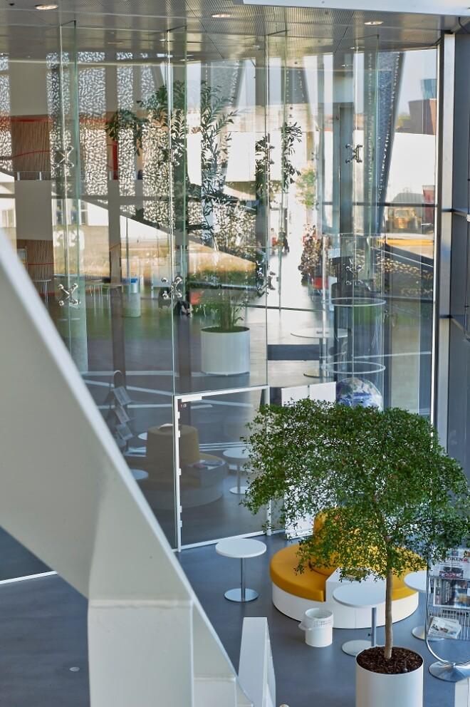 Lafuco 7,5 meter høje glasvægge A