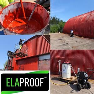 Sverigepremiär för användning av ElaProof!
