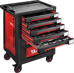 7 skuffers professionel YATO værkstedsvogn