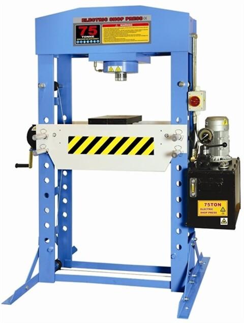 El hydraulisk presse 75T pro - udsolgt