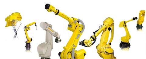 Fanuc industrirobotter til emnehåndtering fra VestTech ApS - Fanuc industrirobotter til emnehåndtering fra VestTech ApS