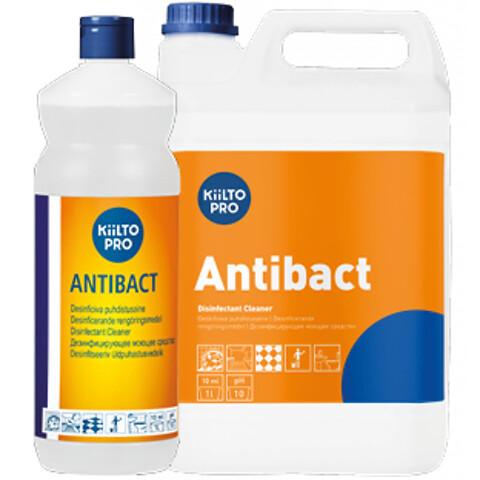 Kiilto Antibact - desinficerende rengøring.