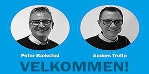 Pettinaroli salgsafdeling styrkes med to nye salgskonsulenter Peter Bæksted og Anders Trolle