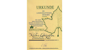 Klüber Lubrication dedikert til miljøvern og bærekraft
