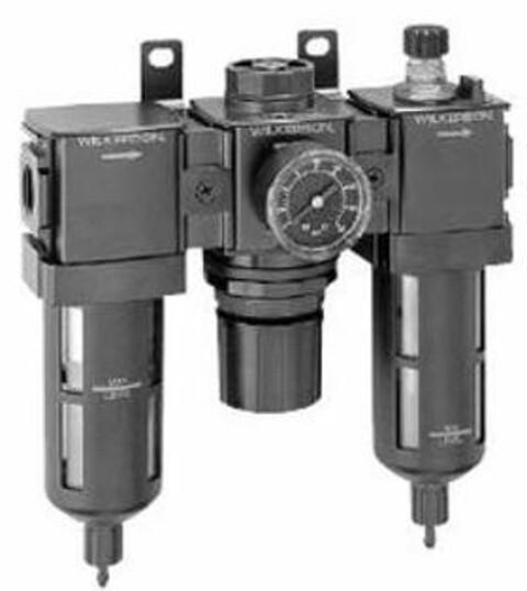Wilkerson filter-regulator-smører fra Vestec