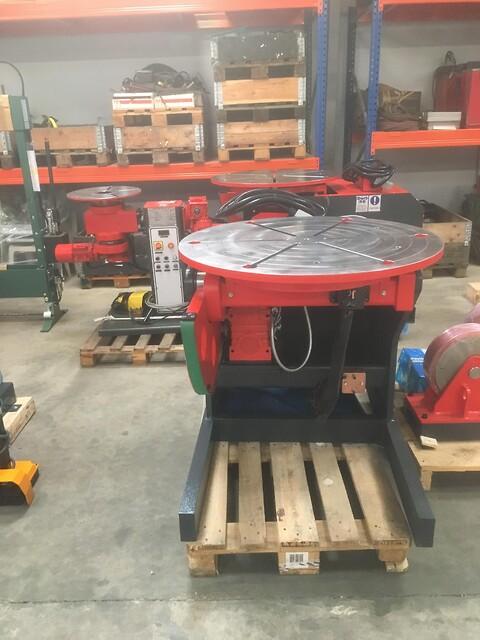 Nyt 1000 kg svejserundbord  Akyapak type SRP sælges