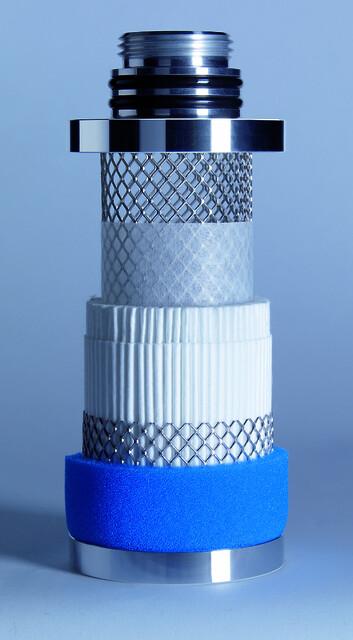 Micro Filter (oljefilter) för compresset luft