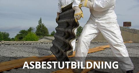 Asbestutbildning halvdag digital 9 juni 2021