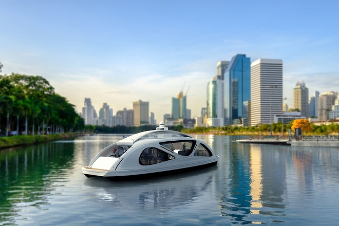 Electric, autonomous and efficient: sea bus can fill niche