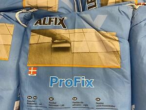 Fliseklæb, fliselim, ProFix, profix, fliseklæber, flisemørtel, Alfix, klæb