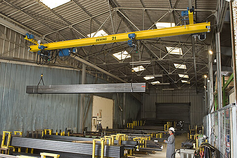 Enbalks hängtraverskran, EPDE upp till 6,3 ton