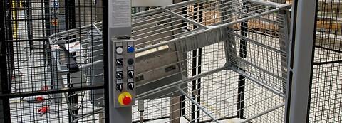 BILA Trolley Stacker - for stable og nedstable af rullepaller -  stable og nedstable rullepaller og varecontainere, Bila