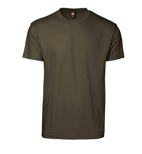 T-shirt, oliven - 0510