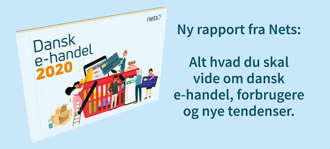 Dansk e-handel 2020-rapport fra Nets