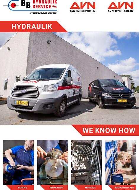 Hydraulikservice - Hydraulikservice, servicebiler, komponenter, montører, fejlfinding, udbedring, on-site, reservedele, hydraulik, reparation, pumper, cylindre,