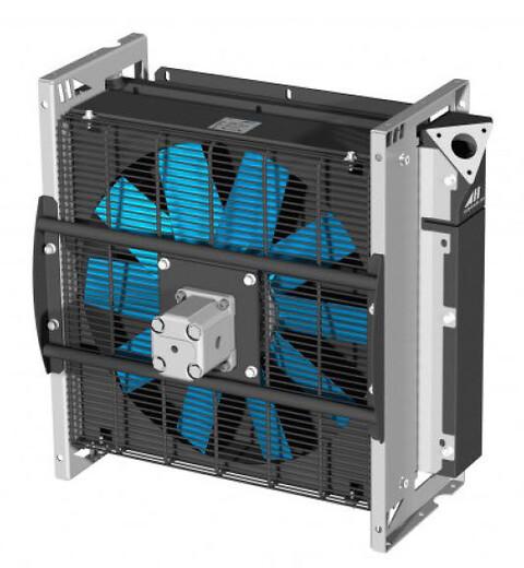 Hydrauliske oliekølere - Luftoliekølere 12V og 24V - Mobiloliekølere - Industri luftoliekølere
