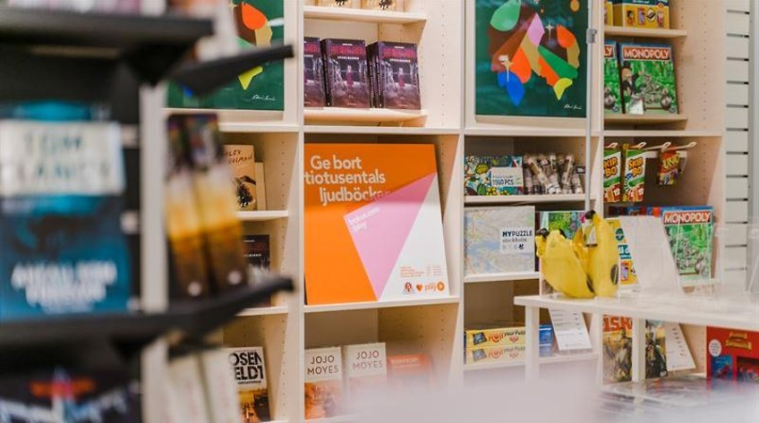 Akademibokhandeln på ny cityadress – får sällskap av Hestra och Scotch & Soda