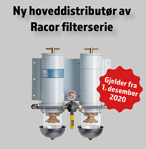 Racor filter distributør otto olsen