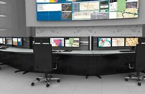 Knürr indretning af kontrolrum