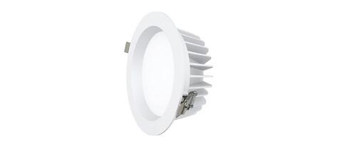 Slitstark LED-downlight för utsatta områden