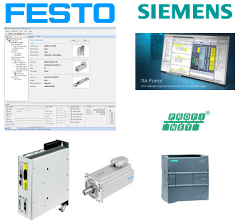 Gratis webinar: Festo Servokontroller sammen Siemens TIA Portal