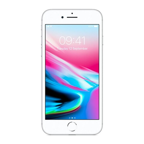 Apple iphone 8 64GB (sølv) - grade b