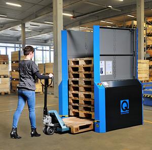 PallEvator för Standard EUR pallar