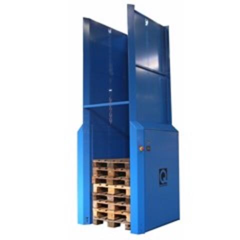Q-System´s Pallemagasin PallEvator Q5 til stabling og nedstabling