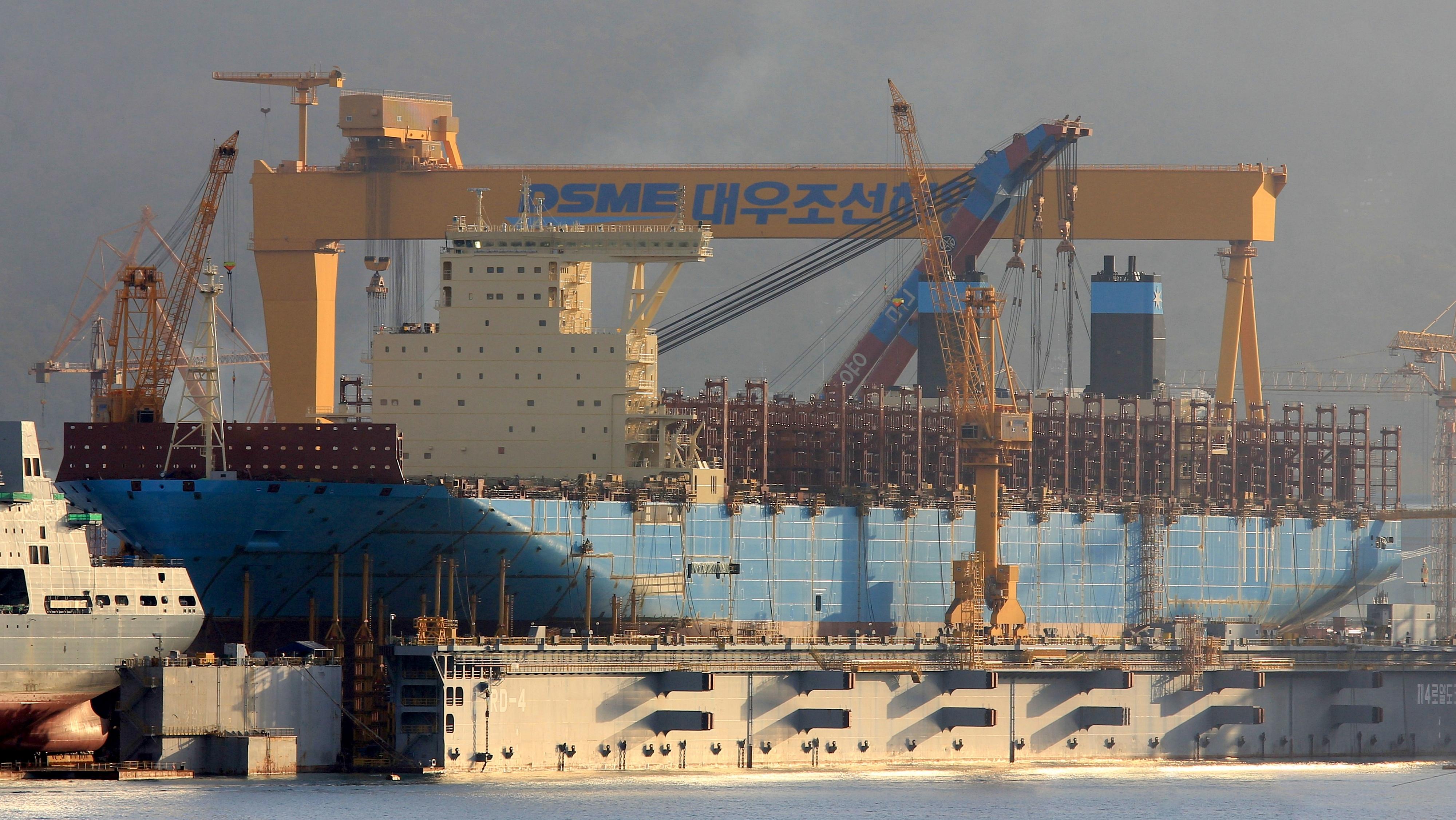 Maersk Line rykker stort med 2  generation Triple E - Søfart