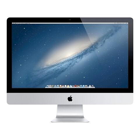 "27"" apple imac - intel i5 4570 3,2GHz 1TB hdd 8GB (Late-2013) - grade a - stationær computer"