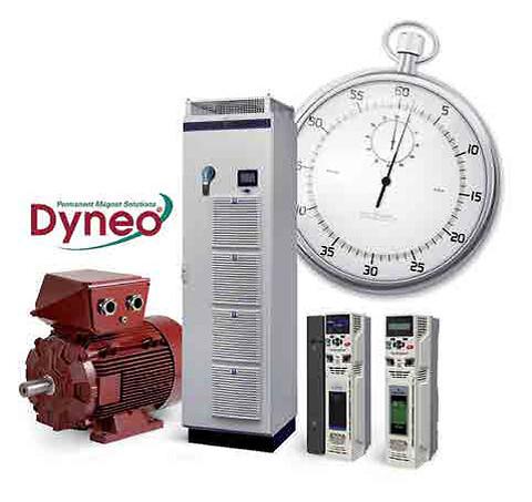 Dyneo® PM motor og drives fås med  kort leveringstid