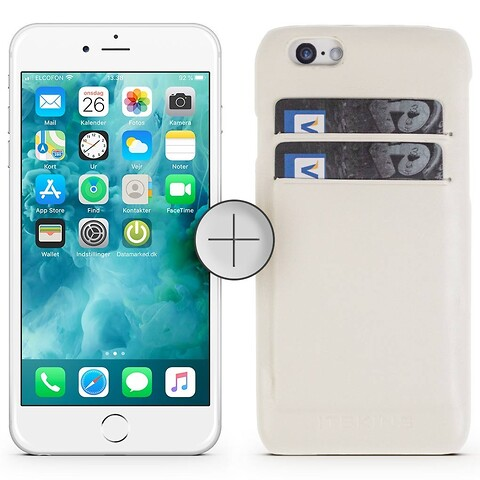 Apple iPhone 6 64GB (Sølv) - Grade C - mobiltelefon
