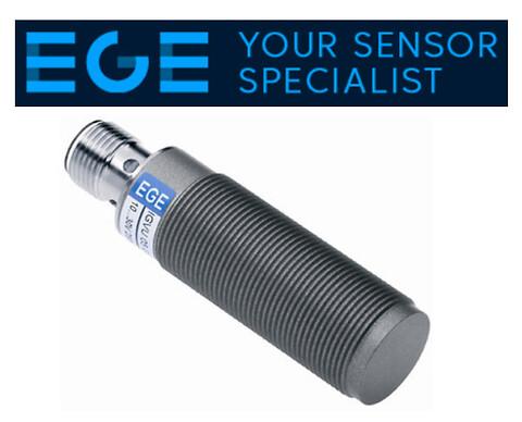 Induktiv sensor, med smuds afvisende overflade  .