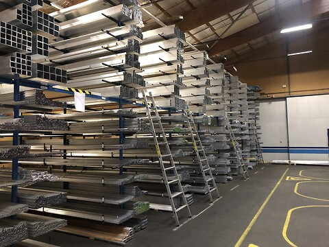 Aluminiumsprofiler  - Direkte fra lager - A/S Metalcentret - Aluprofiler