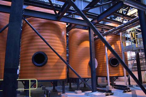 Tanke til industrielle formål - Uponor plasttanke til krævende driftsbetingelser, som til vand, spildevand og kemikalier,