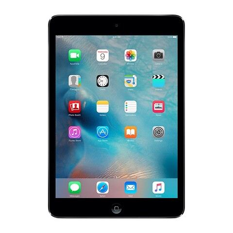 Apple ipad mini 64GB wifi (sort) - grade b - tablet