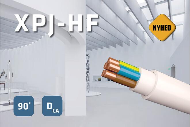 Prysmian XPJ - Helt hvidt instalaltionskabel
