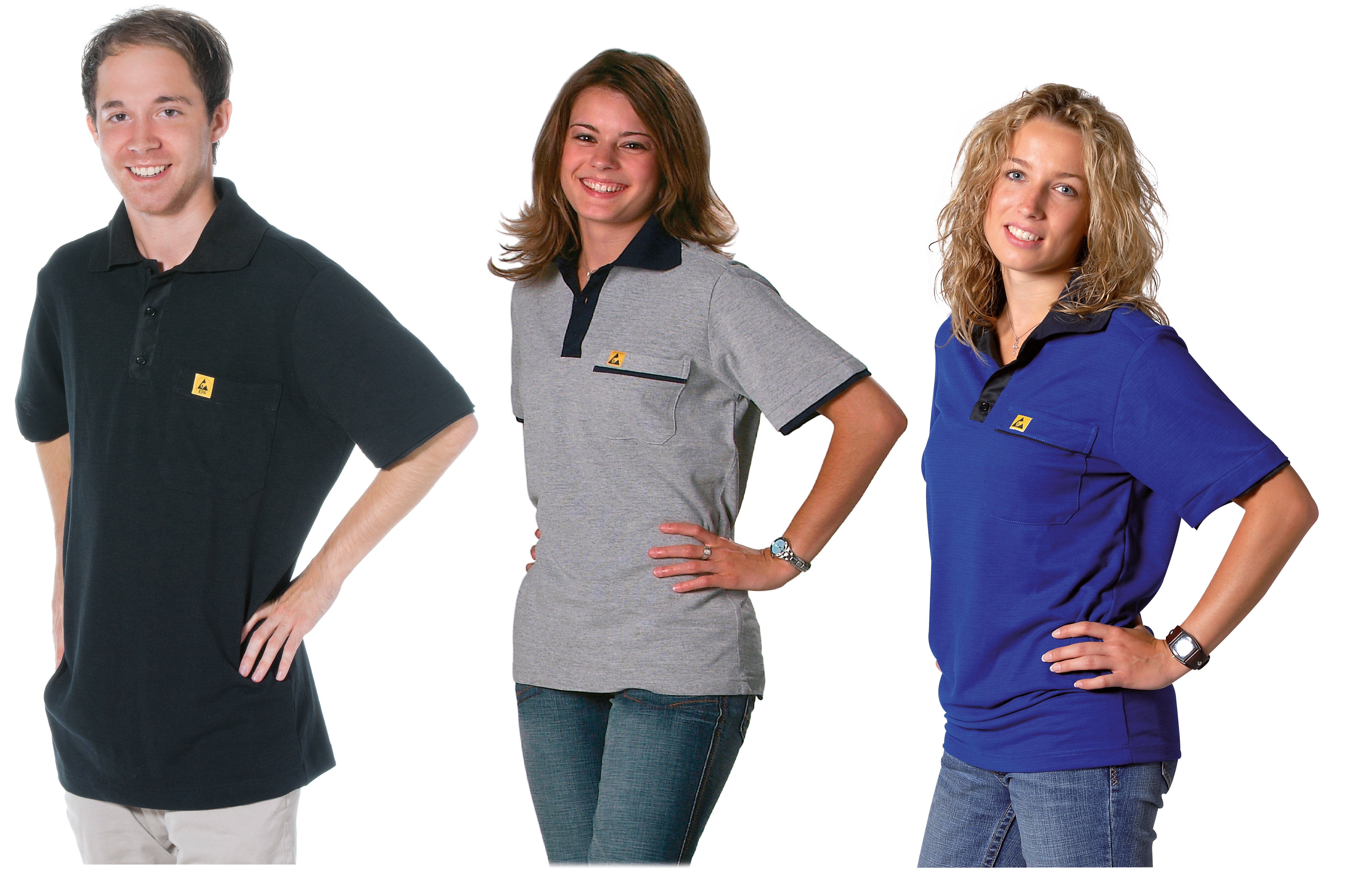ESD T shirts og polo shirts Electronic Supply DK