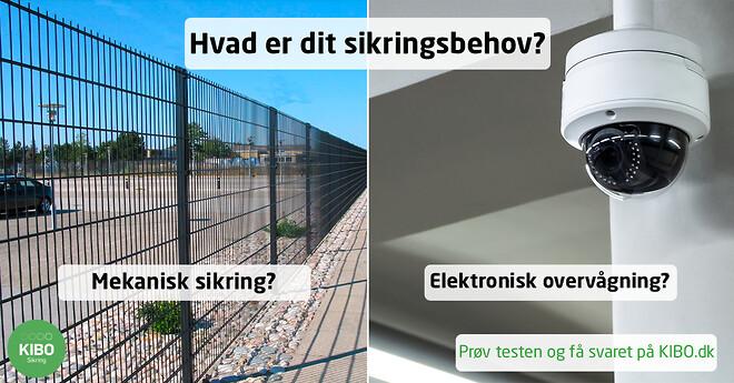 Hvad er dit sikringsbehov? Prøv testen og få svaret på KIBO.dk.