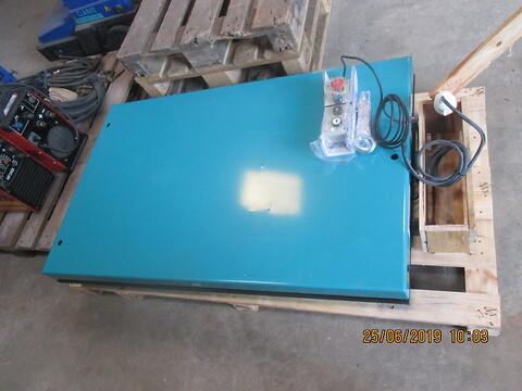 Nyt sax-løftebord 500 kg sælges