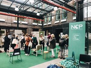 Mange fant veien til NCPs stand under Designers Saturday.
