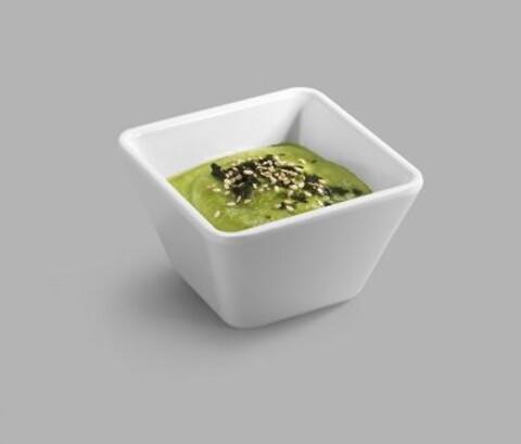 Firkantet skål, hvid melamin, Pujadas- flere størrelser