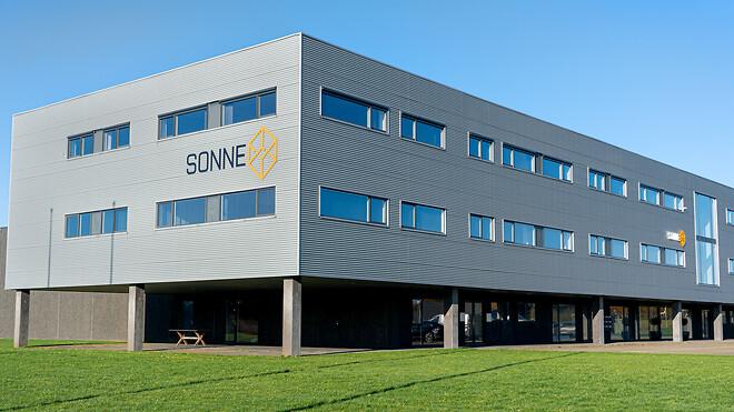 SONNE A/S hovedkontor i Ikast